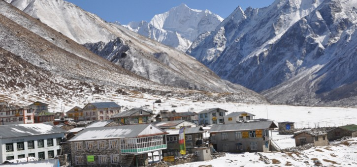 langtang trek and himalayas